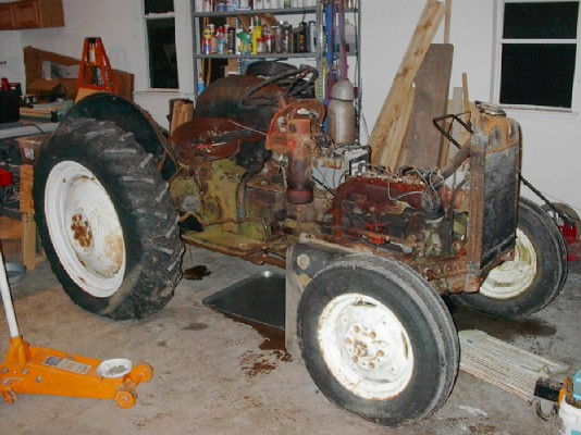 rebuilt engine ford 8n tractor